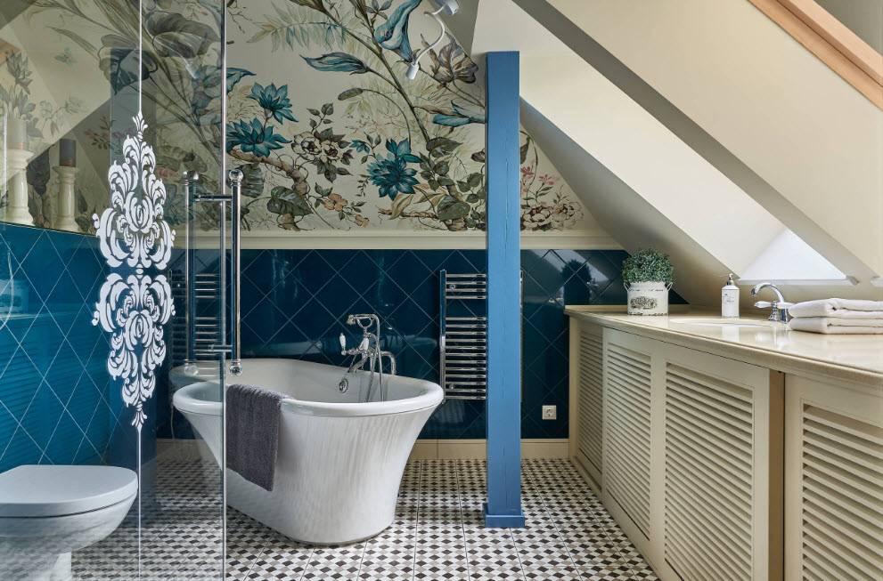 Плитка настенная для ванной комнаты, ее размеры и толщина
