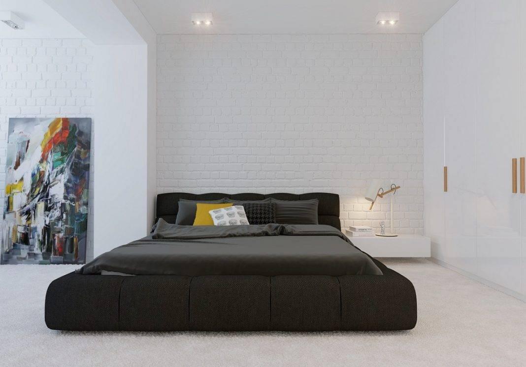 Спальни минимализм: лучший дизайн, характерные черты, 95 фото