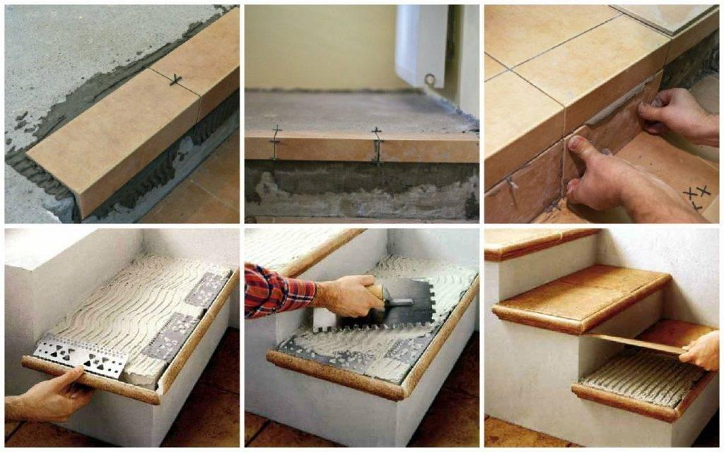 Плитка для ступеней для крыльца - размеры, облицовка, выбор и установка своими руками