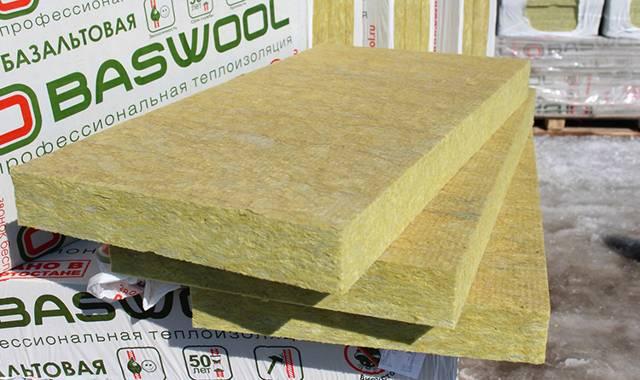 Плотность базальтового утеплителя: основные свойства материала
