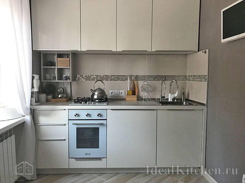 фото красивых обоев для маленькой кухни + советы дизайнера