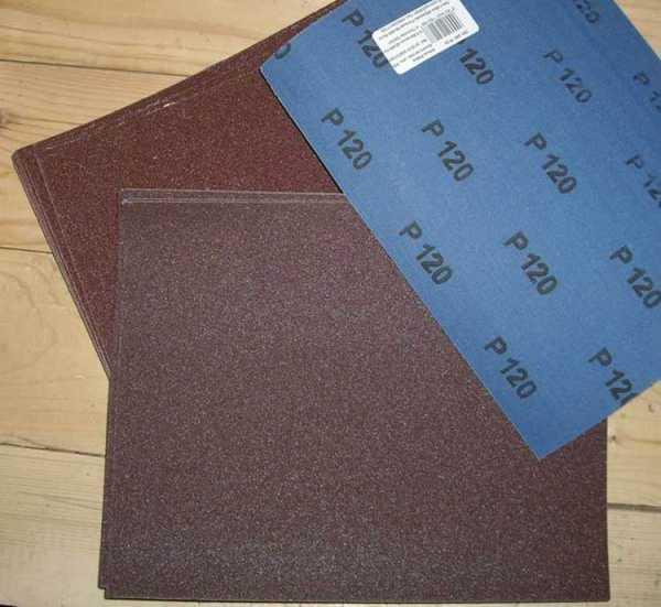 Цвет наждачной бумаги. виды и зернистость наждачной бумаги или шкурки: правила шлифовки