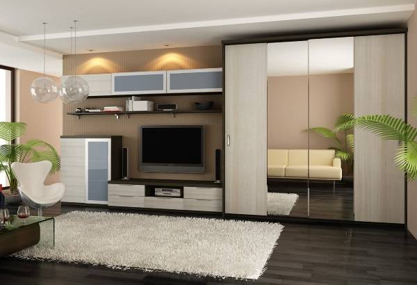 75 стильных идей-шкафа купе в интерьере квартиры
