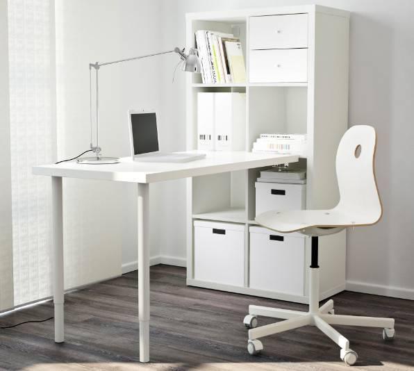 Столы от икеа - фото универсально стильных фабричных изделий