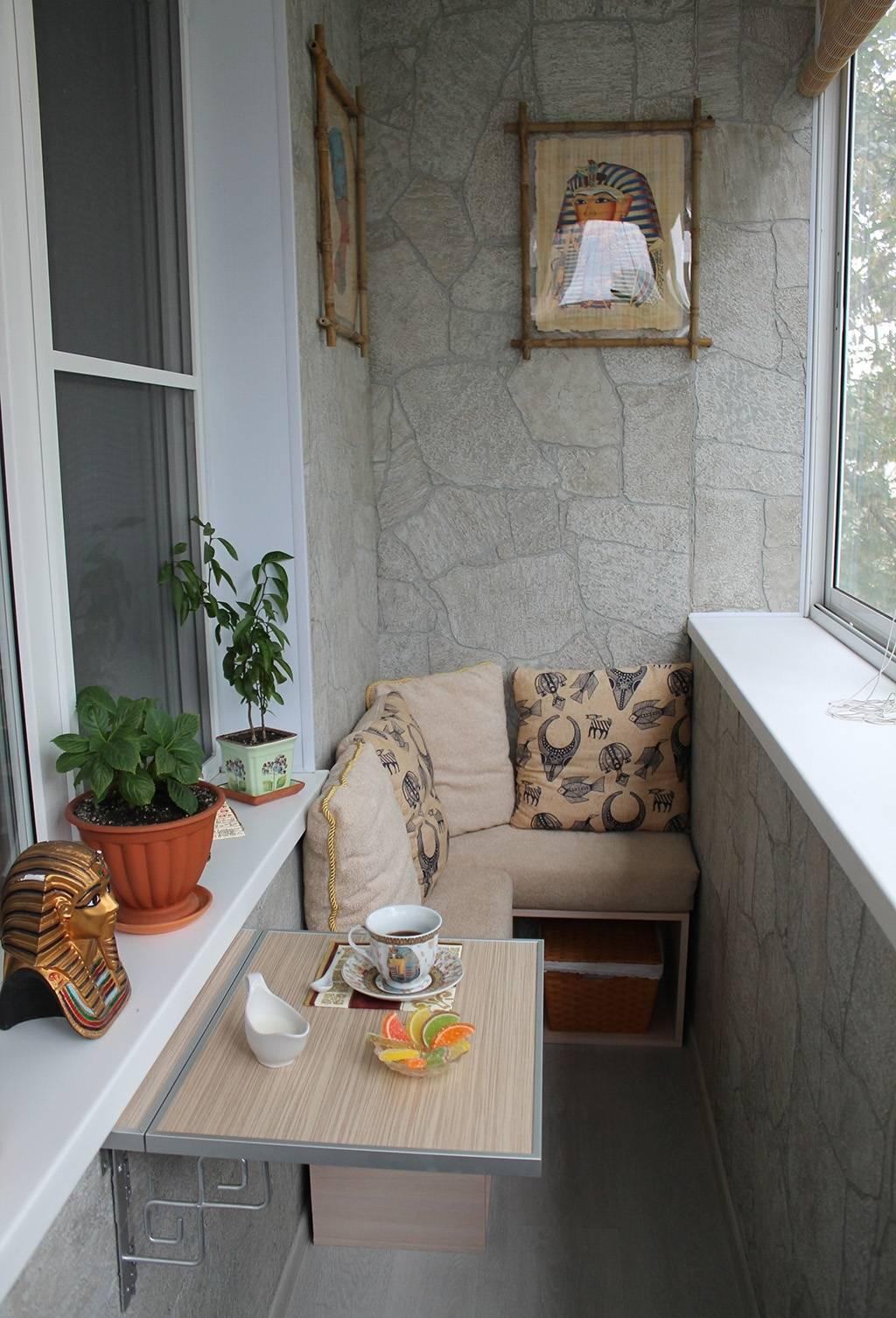 75 идей дизайна маленького балкона: правила оформления и декора