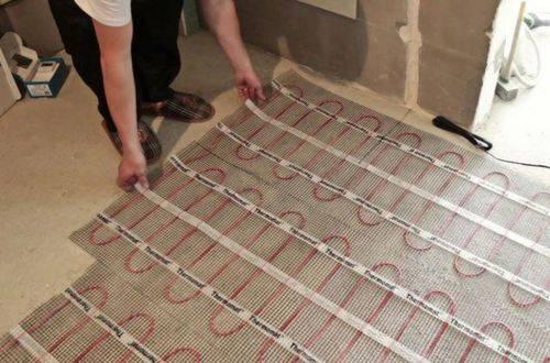 Как выбрать и обустроить теплый пол в ванной комнате