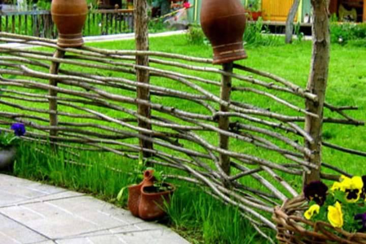 Декоративный заборчик для сада и палисадника