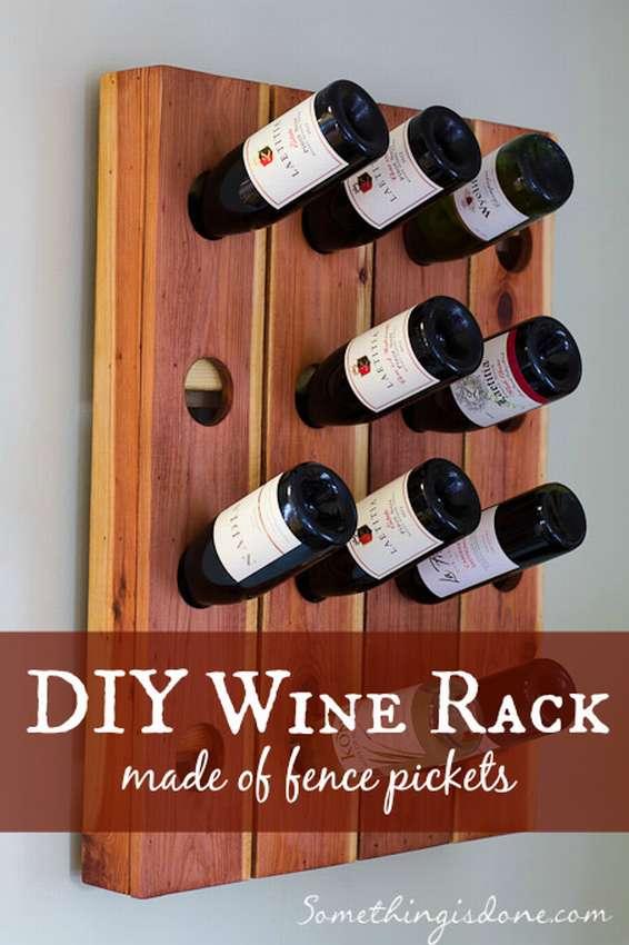 Как сделать винную полку или стеллаж для вина