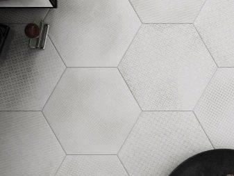 Шестигранная напольная плитка aparici