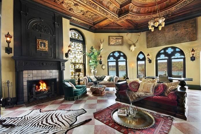 Дворцовый стиль в интерьере - «стили» » все о сауне