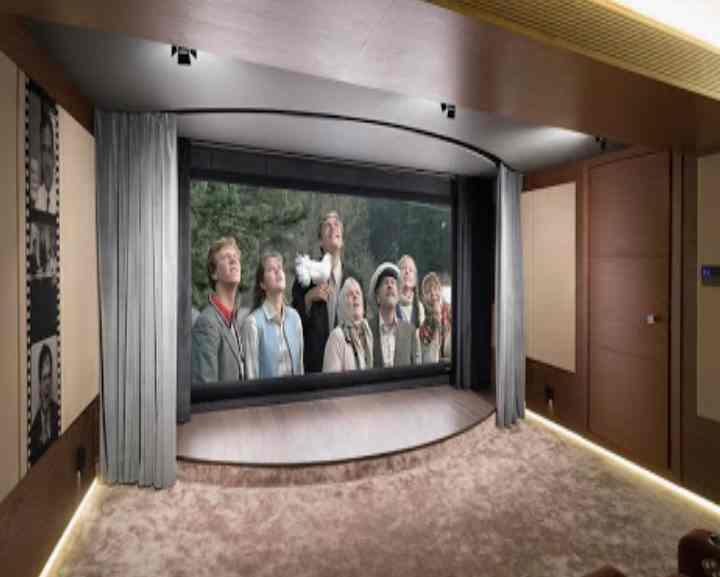 Как сделать персональный кинозал в частном доме – дизайн и фото