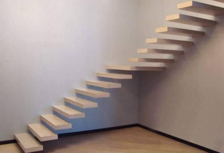 Консольная лестница: Способы крепления лестниц в стене - Преимущества метода +Подробности в Видео и Фото