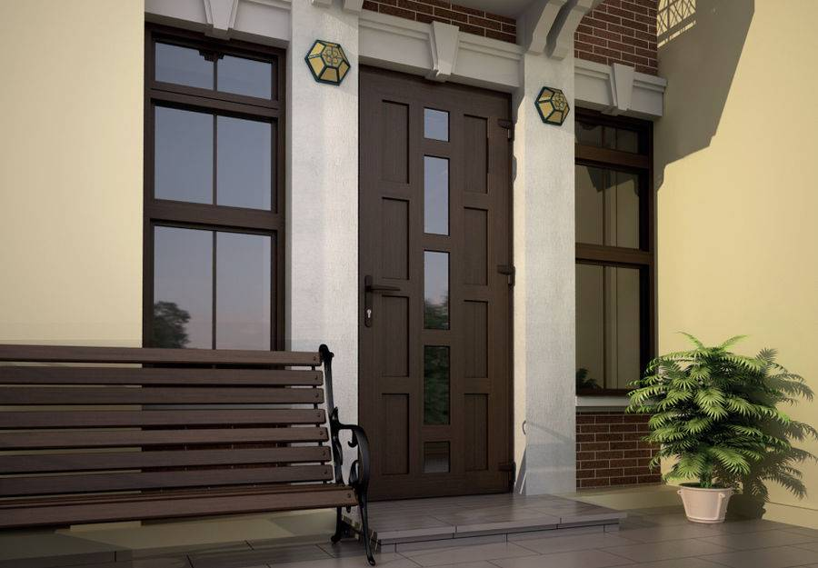 Пластиковые двери: входные для частного дома, металлопластиковые уличные со стеклом, входная группа из пластика, какая лучше из пвх