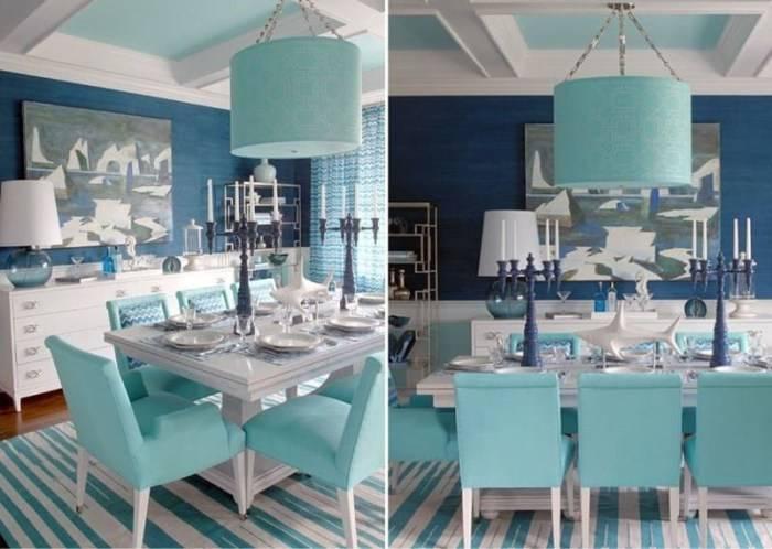 Кухня в морском стиле (42 фото) – дизайн интерьера поднимает настроение