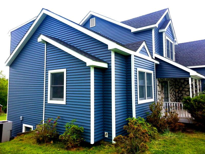 Дизайны домов обшитых сайдингом + фото вариантов отделок частных домов разных расцветок