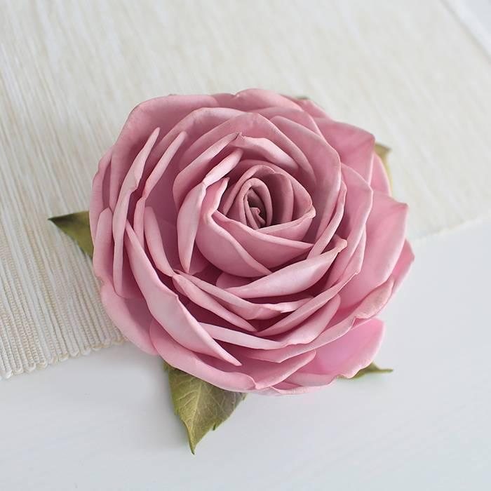 Роза из фоамирана: мастер-классы с пошаговыми фото