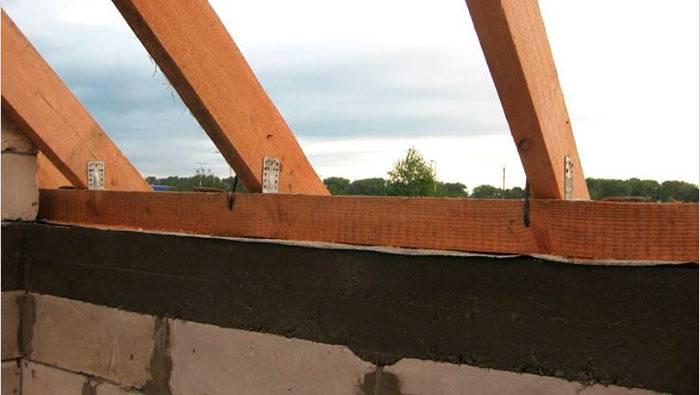 Укладка мауэрлата и как его правильно установить для крыши