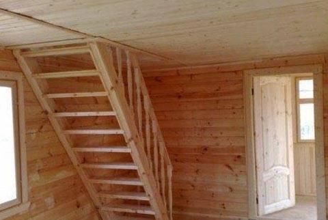 100 лучших вариантов: лестница в доме на мансарду на фото