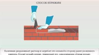 Как правильно класть кирпич - виды кладки и пошаговые инструкции