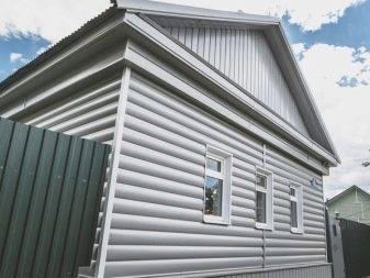 Фасады домов под сайдинг, его виды и характеристики