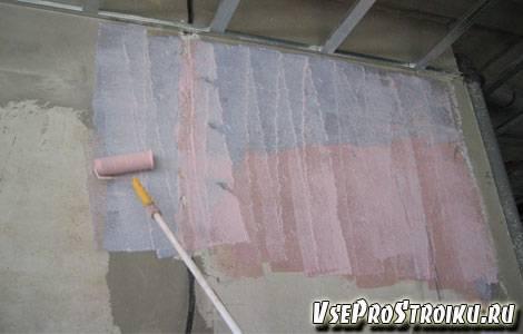 Особенности бетоноконтакта и расчет его расхода на 1м2