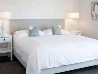 Интерьер белой спальни, выбор цвета, стиля, оформление дизайна