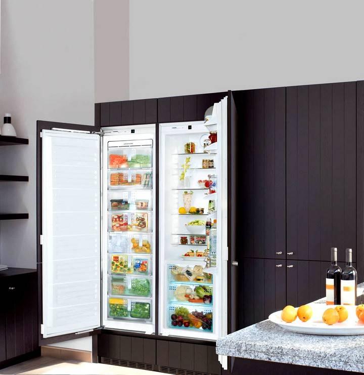 Как спрятать холодильник в кухонный шкаф: пошаговая инструкция