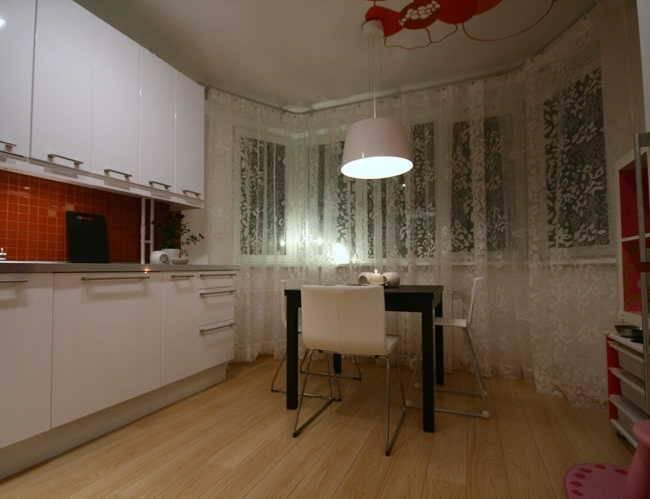 Идеальный дизайн кухни с эркером п44т: фото, советы, дизайн интерьера