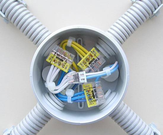 Как соединять провода в распределительной коробке: виды, преимущества и недостатки, правильное соединение