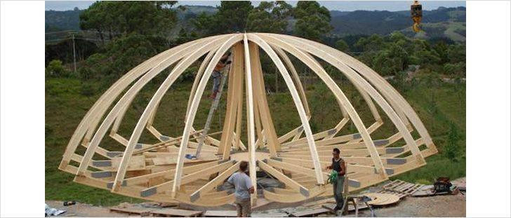 Как легко сделать геодезический купол фуллера своими руками
