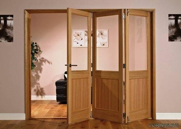 Как установить дверь гармошку - инструкция по монтажу