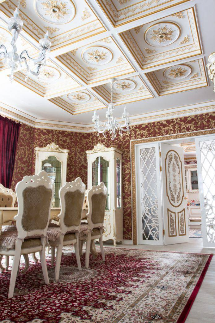 Стиль барокко в интерьере - фото лучших дизайнерских идей
