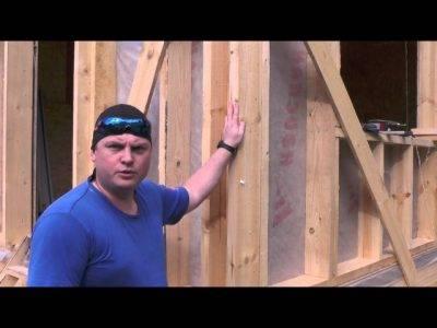 Установка окон в каркасном доме своими руками