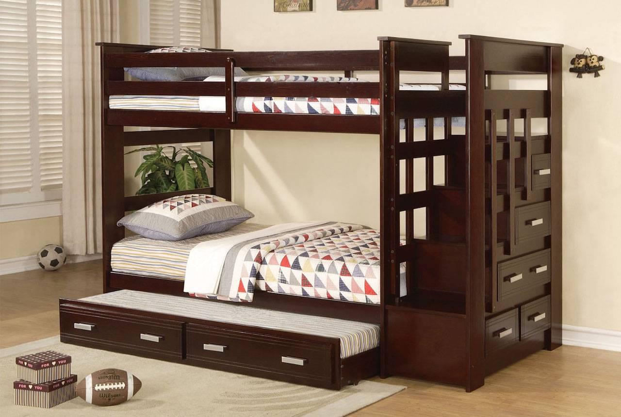 Двухъярусная кровать с диваном — как правильно выбрать, виды