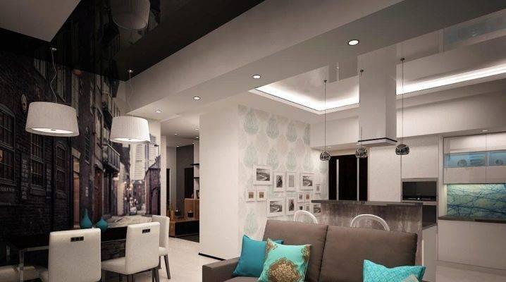 Дизайн квартиры 60 кв. м. – планировки, 70+ фото в интерьере