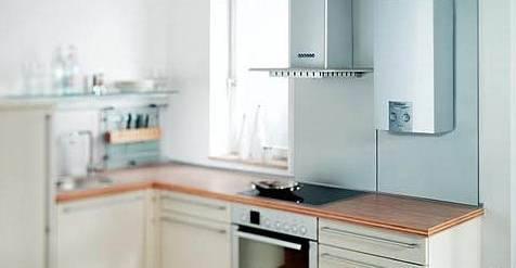 Кухни с газовым котлом: дизайн