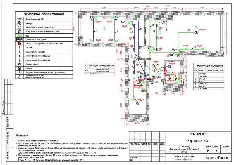 Схемы электропроводки в частном доме: правила проектирования и советы по разводке электрики