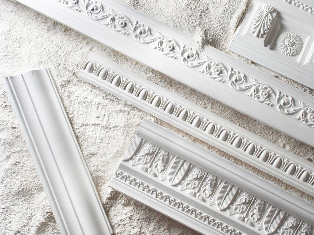 Лепнина из полиуретана в оформлении интерьеров — секреты дизайна