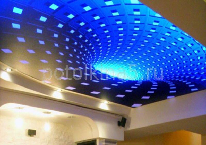 3д потолки — фото обзор всех видов 3d потолков в интерьере