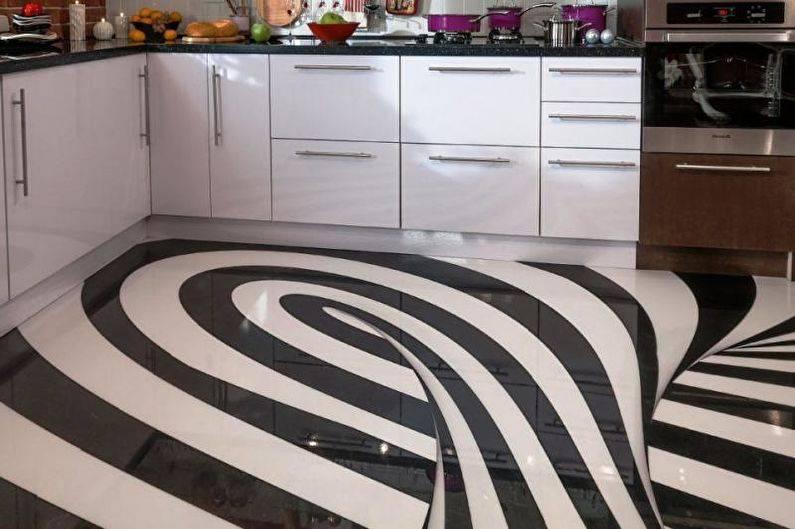 Наливной пол на кухне: фото, отзывы, цена, как сделать своими руками, видео-инструкция наливной пол: путь к оригинальной кухне – дизайн интерьера и ремонт квартиры своими руками