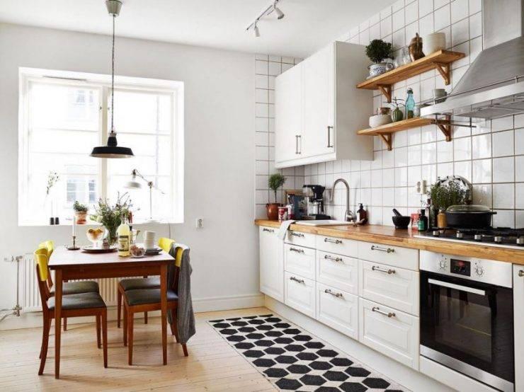 Дизайн кухни 8 кв. метров – 7 шагов и 30 реальных фото