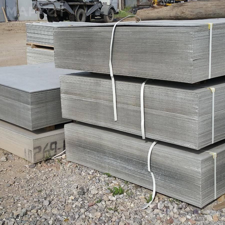 Шифер - размеры и вес асбестоцементных листов волнового и листового материала для крыши