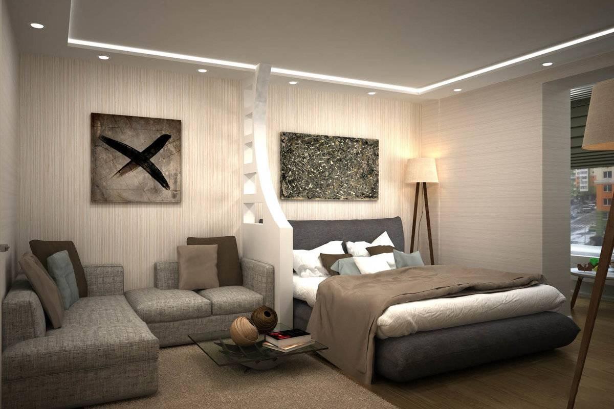 Разделение комнаты на две зоны: создаем идеальный интерьер