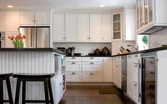 Кухня до потолка: модный тренд или это практично?