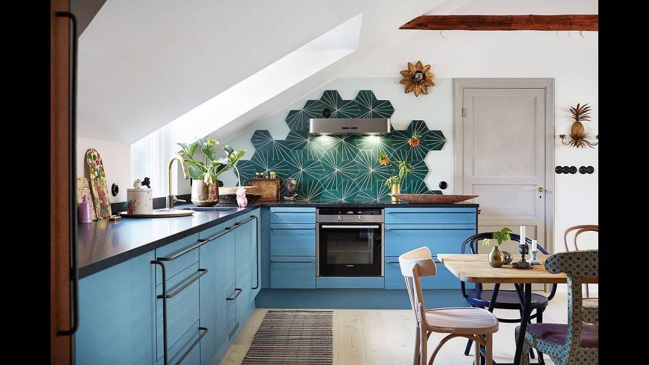 Кухня без верхних навесных шкафов: а что, так можно было?