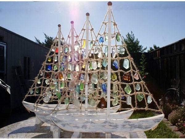 Морской декор: гармония вечного лета в уютном доме (26 фото)