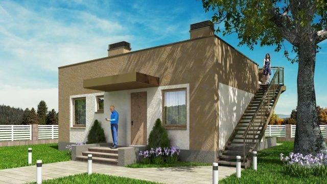 Конструкция плоской крыши: основные узлы и материалы