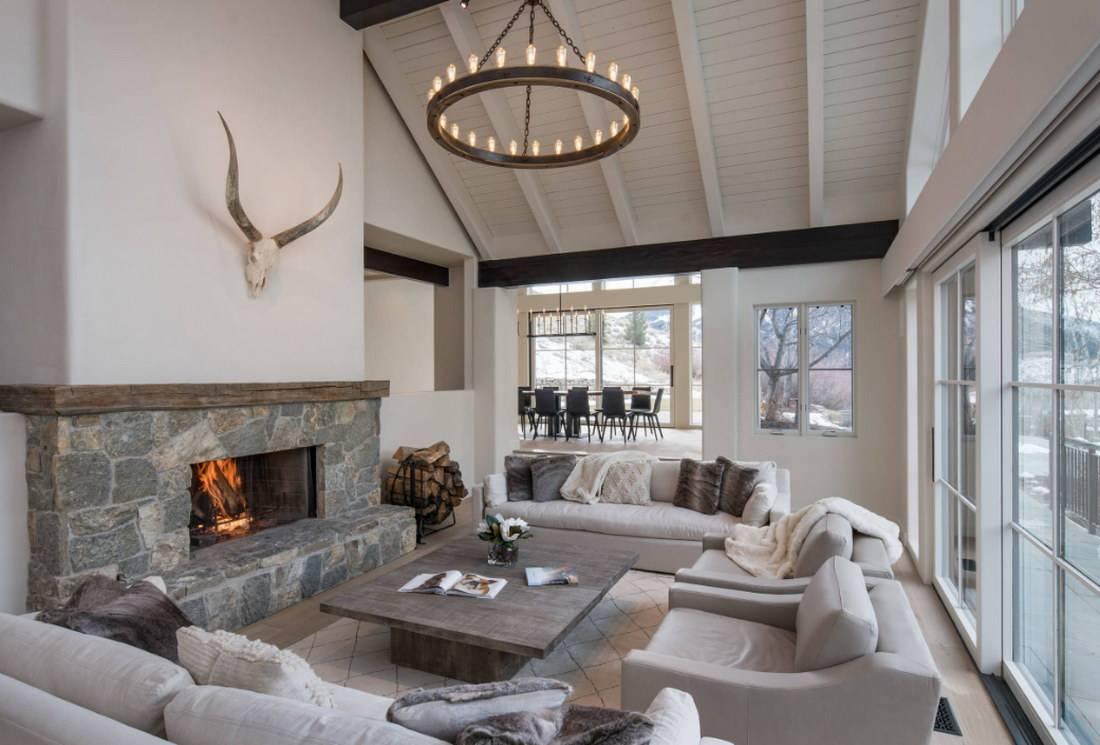 Интерьер гостиной с двумя окнами: лучшие идеи стильного дизайна