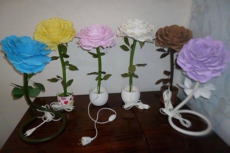 Гигантские цветы из фоамирана: ростовая роза