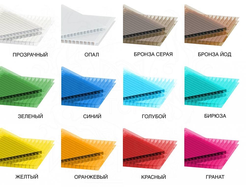 Сотовый поликарбонат: что это такое,свойства,применение,фото